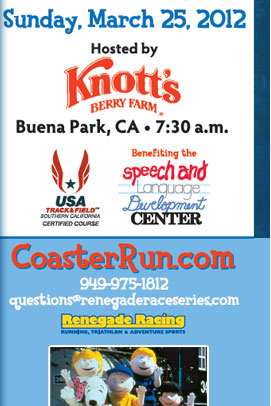 Save up to 5 dollars on Coaster Run! Code: WOODSTOCKWINS - 5K or 10K, SNOOPYSAVINGS - Kids' Walk