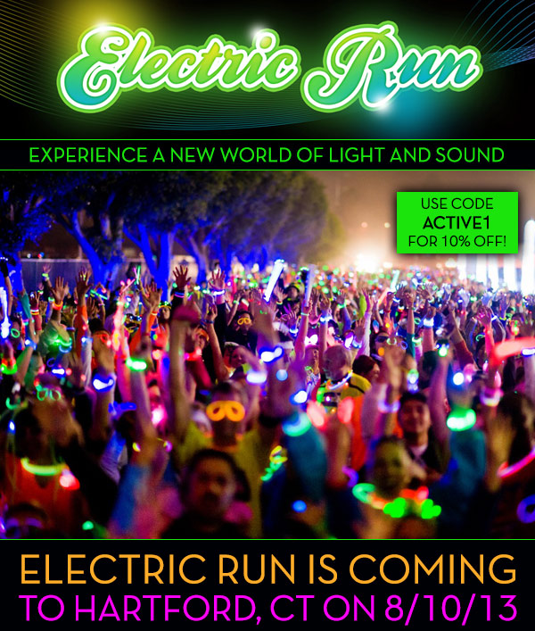 Electric Run is coming to Hartford, CT on 8/10/13