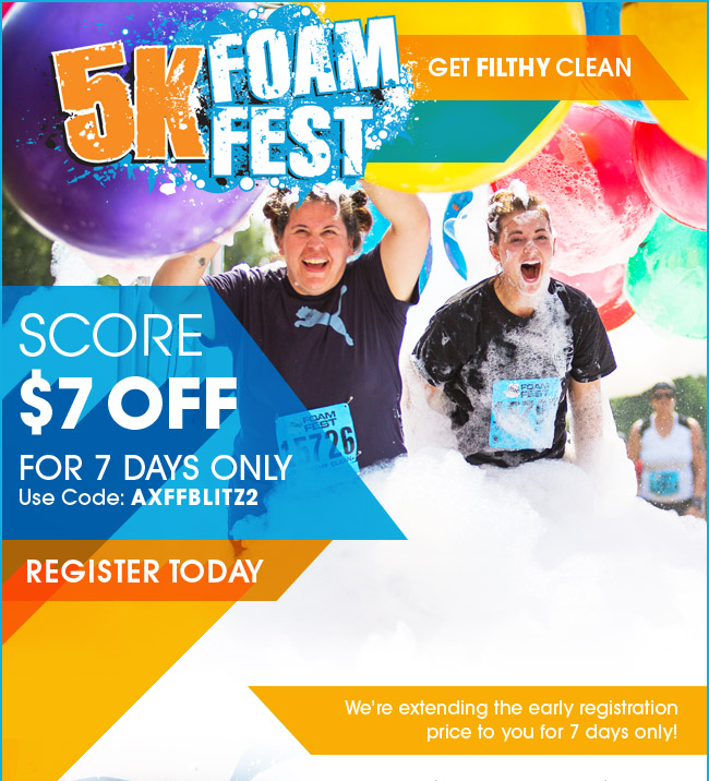 Inflatable 5k Discount Code 2018