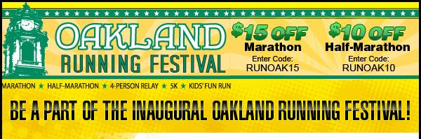 Oakland Running Festival Save $15