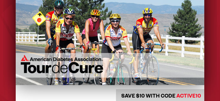 Tour de Cure Presents a series of cycling events held in more than 80 cities nationwide to benefit the ADA. Register for an event or sponsor a giveback.cf Tour is a ride, not a race, with routes designed for everyone from the occasional rider to the experienced cyclist.