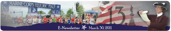 MCM Historic Half Newsletter March 2011