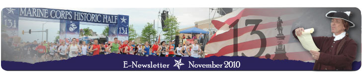 MCM Historic Half Newsletter November 2010