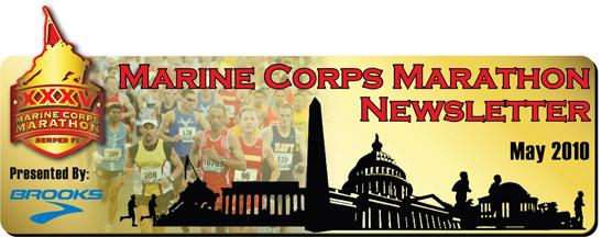 Marine Corps Marathon Newsletter 2010