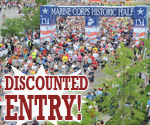 $10 Off Entry Fee for Historic Half