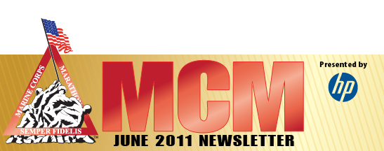 Marine Corps Marathon Newsletter - June 2011