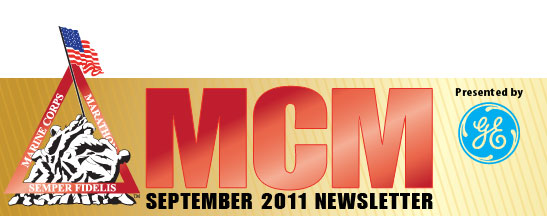 Marine Corps Marathon Newsletter - September 2011
