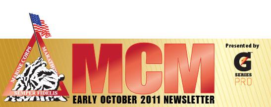 Marine Corps Marathon Newsletter