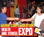 First Stop--the Amazing MCM Health and Fitness Expo