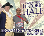 Historic Half marathon Registration Opens on January 25