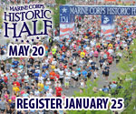 Registration Opens January 25 for Marine Corps Historic Half marathon