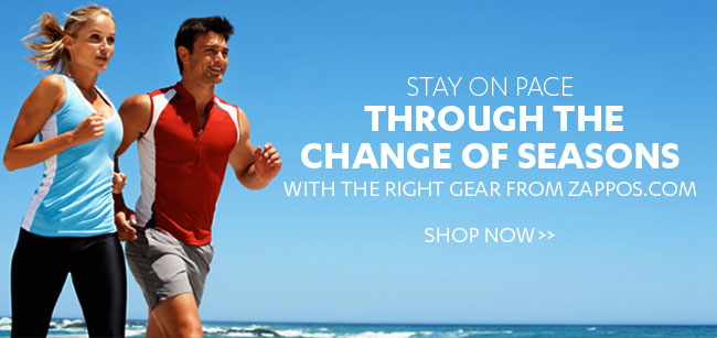 The right gear for a change of seasons from Zappos.com + FREE shipping!