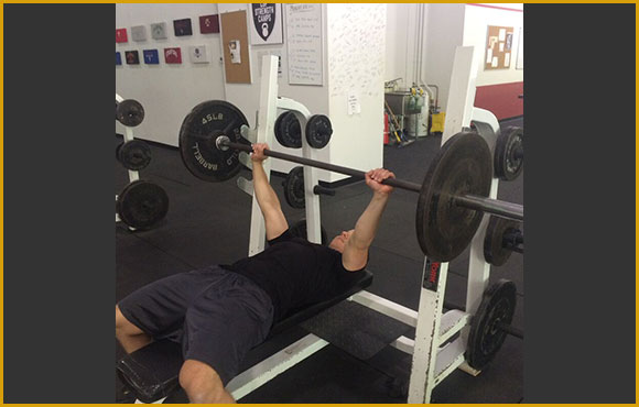 1a Barbell Bench Press